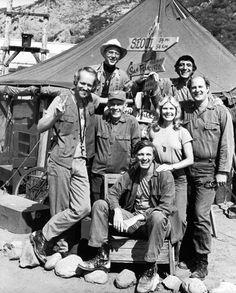 William Christopher, Jamie Farr, David Odgen Stiers, Loretta Swit, Alan Alda, Harry Morgan, and Mike Farrell