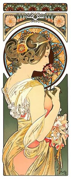 Alphonse Mucha... Thank you
