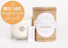 Thrilled our #Cashmere #candle made Babble's list: 10 Must-Have Home Fragrances for Fall
