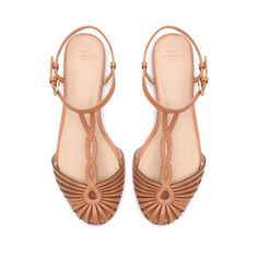 perfect sandals for summer. they will go with everything.