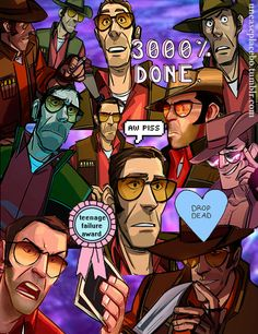 Sorry not sorry Feel free to use it, but please, don't remove the credits All Sniper images taken from the Team Fortress 2 comics © Valve