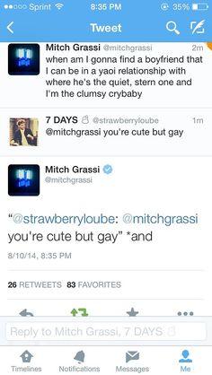 queen-mitch:  MITCH GRASSI SLAYS AGAIN.