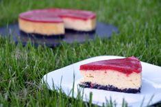 Epres sajttorta Oreo-val - New York-i módra Mousse Cake, Cake Designs, Cheesecake, New York, Sweet, Desserts, Food, Cake Templates, New York City