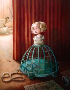 """Felicie Tronc"" by Benjamin Lacombe"