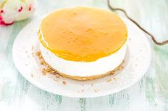 Mangokakku (gluteeniton) Food Tasting, Fodmap, Panna Cotta, Mango, Cheesecake, Deserts, Easy Meals, Food And Drink, Cooking Recipes