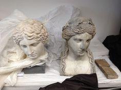 Fall Of Constantinople, Anno Domini, Historical Women, Roman History, Romans, Renzo Piano, Sculpture, Statue, Antiques