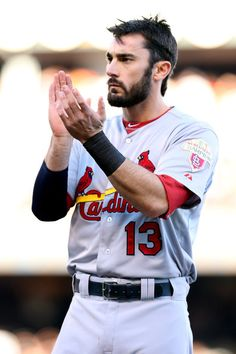 pics of matt carpenter | Matt Carpenter Matt Carpenter #13 of the St. Louis Cardinals reacts in ...