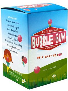 Do It Yourself Bubble Gum Workshop at Creative Kidstuff