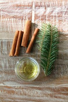 per http://www.make-haus.com/blog/ppyhaus.com/2013/12/a-winter-recipe.html All you need is your pick of dry whole spices like cinnamon sticks, whole nutmeg berries, cloves, rosemary, pine needles. Add to a pot with water and a little oil (I used jojoba), bring to a simmer on a stove top and cozy up with a warm blanket...