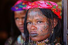 Africa   Portrait of a Mbororo woman.  Cameroon   © Marcel Staron.