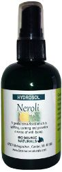 Neroli Hydrosol Spray - 4 oz/ 113 ml, $16.50. Neroli Hydrosol is a calming, light sedative spray for your feline pet!