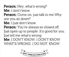 INFP problems.  This is literally the conversation Shawn and I have just about every other day!!