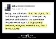 Funny Stuff from Twitter and Facebook