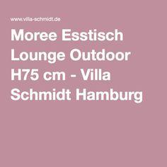 Moree Esstisch Lounge Outdoor H75 cm - Villa Schmidt Hamburg