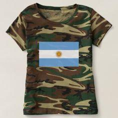Flag of Argentina - Bandera de Argentina T-shirt custom gift ideas diy