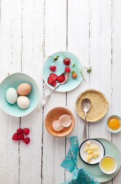Strawberry, pistachio & brown butter tart / Cannelle et Vanille