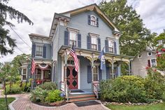 1869 Victorian Wortman St Village of E. Millstone Somerset, New Jersey Historic Homes For Sale, Find Homes For Sale, Victorian Photos, Victorian Houses, Real Estate Photography, Old Houses, My House, Restoration, Mansions