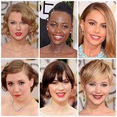 JennySue Makeup: Bold Color Ruled The 2014 Golden Globe Red Carpet