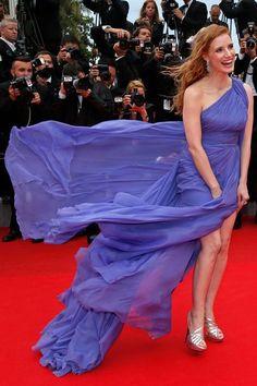 a412558f579 Festival de Cannes les plus belles robes des stars. Jessica Chastain ...