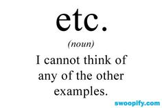 True Meaning Of ETC #humor #lol #funny