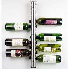 Wall Mounted Wine Bottle Holder. Holds 12