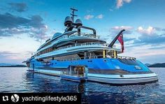 #Repost @yachtinglifestyle365 with @repostapp  YACHT PROFILE - Shipyard Feadship - Yacht: 324.80ft/99m)  MY/Madame Gu - Year Delivered:  2013 - Accommodations 16 - Cabins: 6 - Crew: 36 - Interior Designer: @winchdesign_wd - Exterior Designer @winchdesign_wd - Charter Yacht: NO - Charter Rate: NA per week Summer NA Winter  Expenses -  @yachthelicopters ---------------------------- #YachtingLifestyle365 #BestSuperyacht ---------------------------- #BestofYachting #YachtingLifestyle #Superyacht…