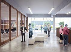Service center Tielt | Work | OYO architects