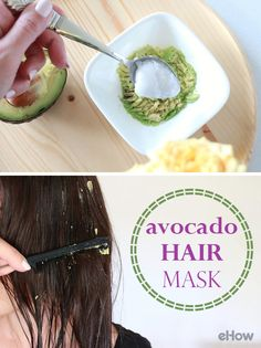 We knew avocado was good for you, but did you know it's also really good for your hair? Get shinier hair with this DIY homemade avocado hair mask: http://www.ehow.com/how_2194352_avocado-mask-hair.html?utm_source=pinterest.com&utm_medium=referral&utm_content=freestyle&utm_campaign=fanpage