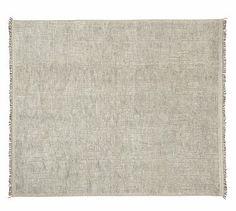 Lenox Hand-Knotted Rug - Gray #potterybarn.  8 x10.  1700.00