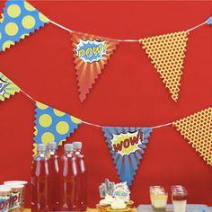 Una fiesta de cumpleaños de superhéroes como protagonistas! – La Fiesta de Olivia