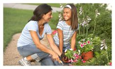 Learn to Grow Your Own Food - Work with your mom or dad this spring and you can grow your own fruits and vegetables at home. #gardening #garden