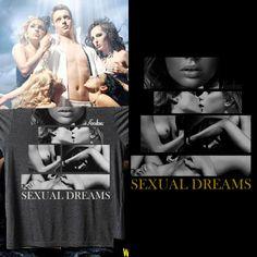 Camisa T-shirt Masculina Sexual Dreams