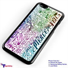pierce the veil rainbow - Personalized iPhone 7 Case, iPhone 6/6S Plus, 5 5S SE, 7S Plus, Samsung Galaxy S5 S6 S7 S8 Case, and Other