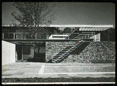Marcel Breuer 1954 Gagarin House – Litchfield, CT – with Herbert Beckhard