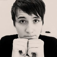 """Imagine: You And Dan are chilling at home, when randomly Dan ask if he can snuggle with you. But you are on your period and don't want to be touched over even spoken too. You shout no then turn back to the t.v.  ""But please."" I whines giving you a puppy dog face. """