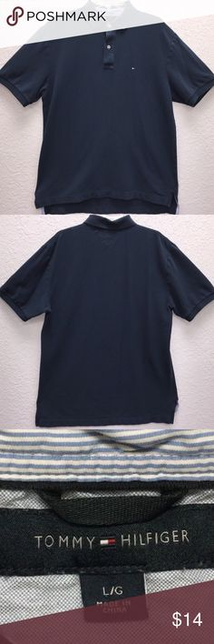 12d3fc931e4f Tommy Hilfiger Short Sleeve Polo Shirt is in great shape! Please see  pictures for details