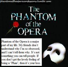Phantom of the Opera Confessions