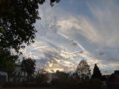 Messy skies