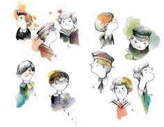 adolfo serra: Los niños cantores