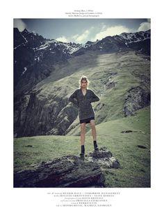 regitze christensen by sean mcmenomy for elle denmark january 2016 | visual optimism; fashion editorials, shows, campaigns & more!