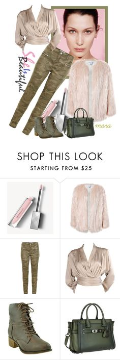 """Make the difference... :-)"" by marastyle ❤ liked on Polyvore featuring Burberry, Sans Souci, New Look, Yves Saint Laurent and Coach"