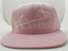 St Louis Cardinals Pink Flat Bill Baseball Cap Cooperstown Collection - NWOT #AmericanNeedle #BaseballCap