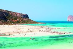 Balos Lagoon, Chania. Crete