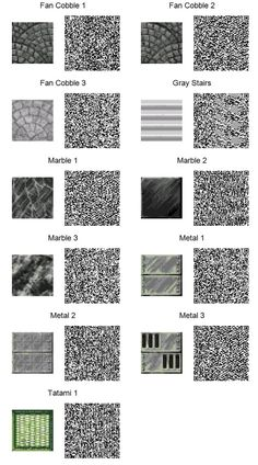 ACNL QR Code: Assorted Tiles (If too small, use download link at right of the page for full resolution.)
