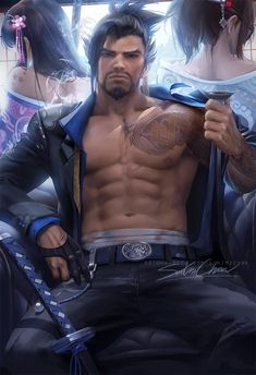 Yakuza Hanzo poster sold by Sakimichan Art Shop. Shop more products from Sakimichan Art Shop on Storenvy, the home of independent small businesses all over the world. Overwatch Hanzo, Overwatch Fan Art, Dojo, League Of Legends, Body Kun, Sailor Moon, Sakimichan Art, Lgbt, Anime Guys