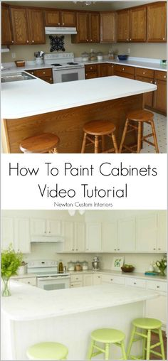 Learn how to paint your cabinets with this step-by-step video tutorial.