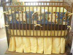 Adorable Sunflower Nursery Baby Stuff Baby Girl Crib