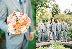 navy and blush wedding | Flowers by Blooms of Hope
