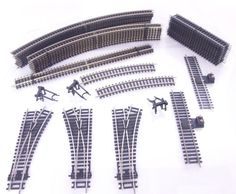 LARGE AMOUNT OF NEW  #HORNBY NICKLE SILVER OO / HO GAUGE #TRACK  - #DCC READY