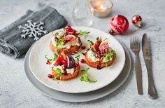 This sweet potato starter with feta and sticky balsamic dressing is perfect for any festive feast. See more Christmas Starter recipes at Tesco Real Food.